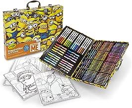 Crayola Despicable Me Inspiration Art Case, 120 Pieces, Minions, Art Set, Ages 6, 7, 8, 9, 10