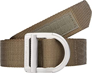 5.11 Tactical Men's Military Trainer Belt, Fade and Rip Resistant, Nylon Mesh, Style 59409, XXXX-Large, Tundra (192)