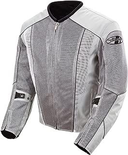 Joe Rocket Phoenix 5.0 Men's Mesh Motorcycle Riding Jacket (Silver/Silver, XXX-Large)