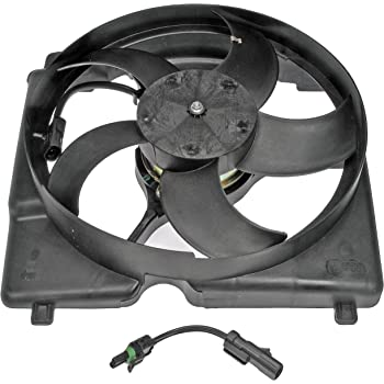 MOSTPLUS Radiator Cooling Fan /& Motor w// 10 Blade for 97-01 Cherokee 4.0L LHD Models Replaces 52028337AC