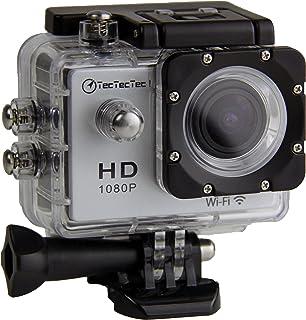 TecTecTec XPro1Action Cam, WLAN, HD, Full HD 1080p (Farbe Silber)