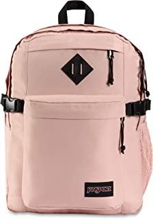 JanSport Main Campus 15 Inch Laptop Backpack - Any Occasion Daypack, Misty Rose