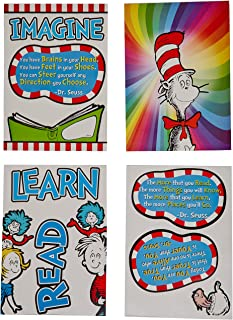 Eureka Classroom Supplies Dr. Seuss Cat in the Hat 3D Bulletin Board Set, 12 pcs