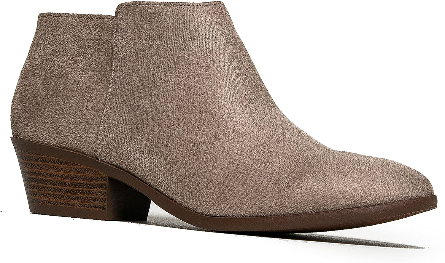 J. Adams Women's Clay Low Heel Western Ankle Bootie - 10 B(M) US