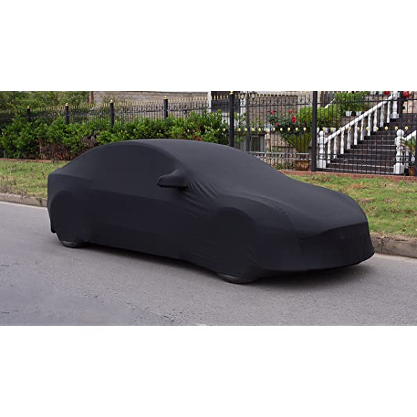 xipoo fit tesla model 3 car cover sedan cover uv protection windproof dust proof scratch proof outdoor full car cover…
