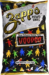 Zapps Potato Chips - NEW ORLEANS KETTLE STYLE VOODOO - 2 x 5 oz