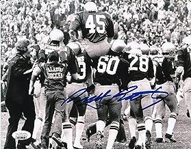 Rudy Ruettiger Notre Dame Signed/Autographed 8x10 B/W Photo JSA 156075