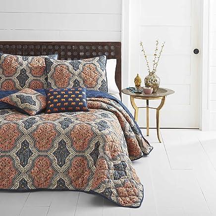 featured product Azalea Skye Rhea Quilt Set King Bright Orange