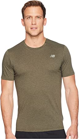 New Balance Heather Tech Short Sleeve