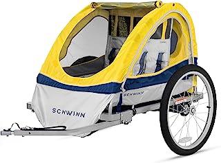 Schwinn Joyrider, Echo, and Trailblazer Child Bike Trailer, Single and Double Baby..