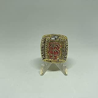 2013-14 Jameis Winston Florida State Seminoles FSU High Quality Replica 2014 BCS National Championship Ring Size 11.5-Gold Colored