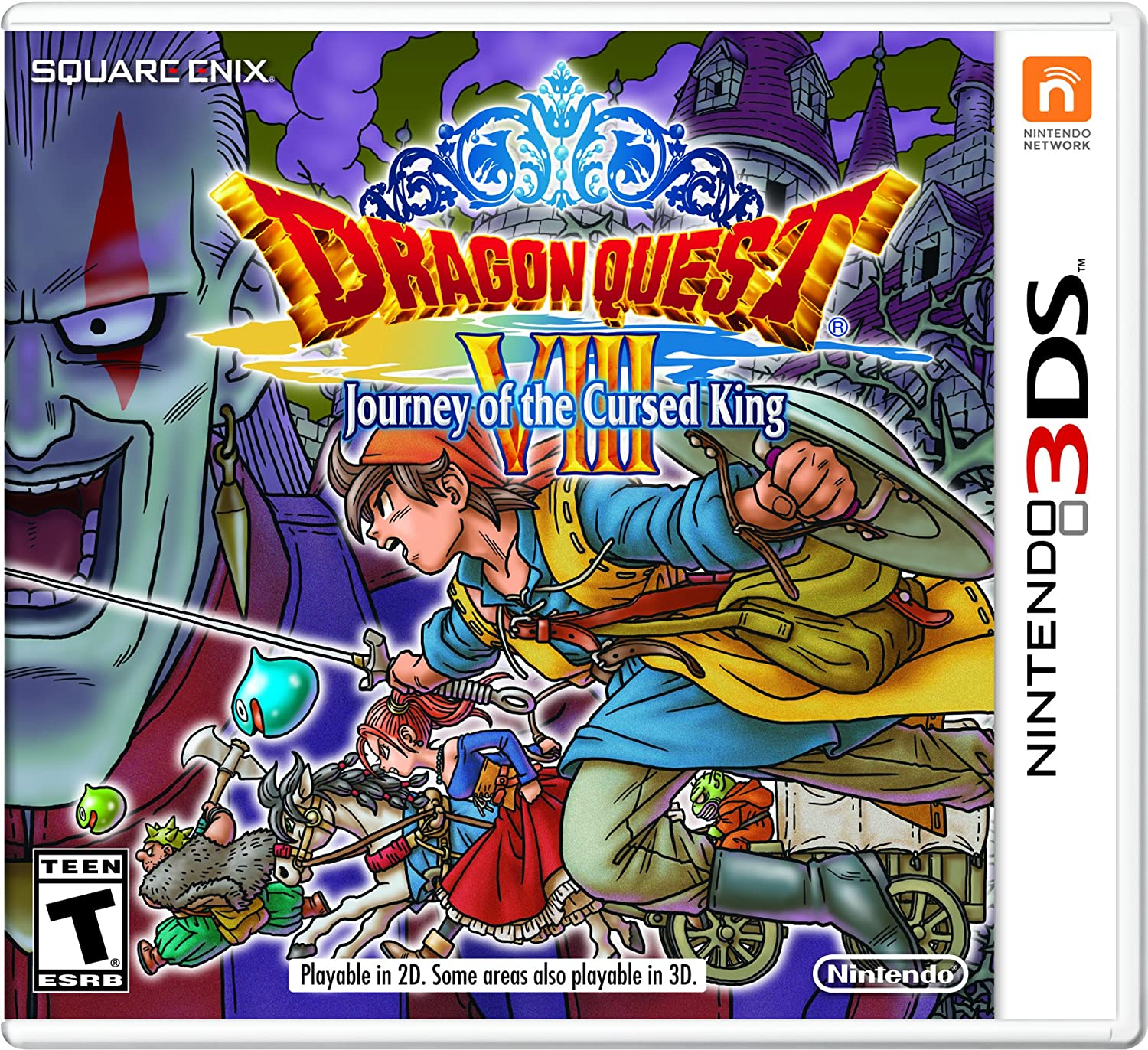 Dragon Quest security VIII: Journey of the Cursed 3DS - Nintendo King overseas