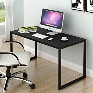 SHW Home Office 48-Inch Computer Desk, Black