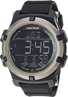 Armitron Sport Men's 40/8438 Digital Chronograph Resin Strap Watch