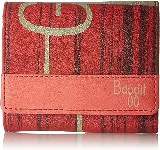 Baggit Women's Wallet (Cranberry)