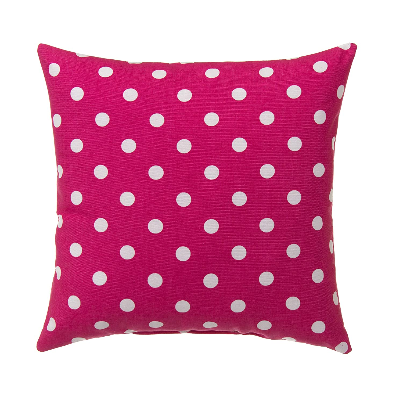 Glenna Jean Apollo Pillow Dot, Pink, 16 x 16 x 5 Inch
