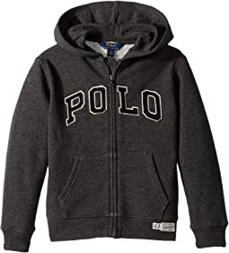Polo Ralph Lauren Kids - Cotton-Blend-Fleece Hoodie (Little Kids/Big Kids)
