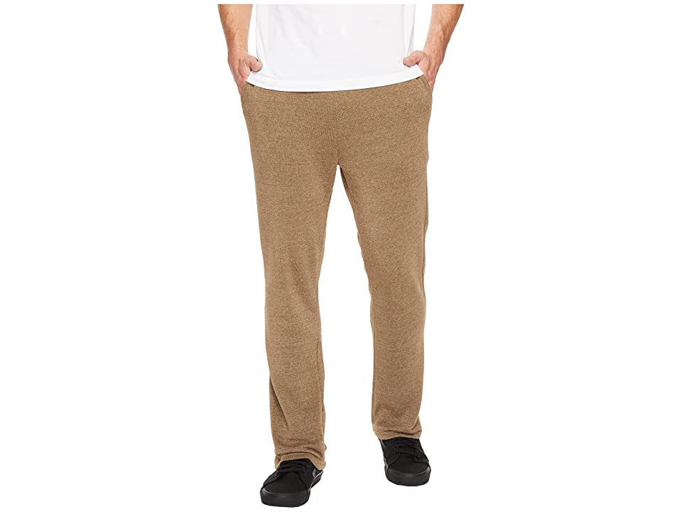 Alternative Eco Fleece The Hustle Open Bottom Sweatpants (Eco True Dark Olive) Men