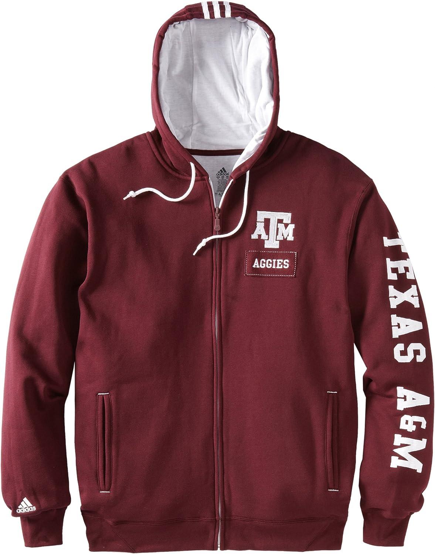 NCAA Texas AM Aggies Pride Men's Zip Las Vegas Bargain Mall Full