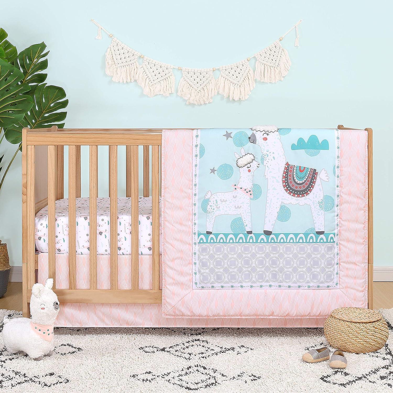 The Peanutshell Llama Love Crib Bedding San Jose Mall for Sets Baby 3 Girls Great interest