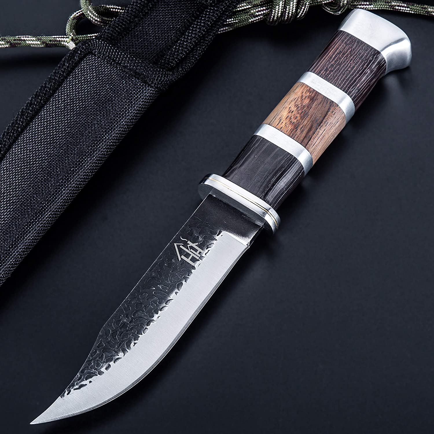 Hobby Hut HH-353 Fixed Blade Knife Stainless Max 47% OFF Bushcraft St 440C Limited Special Price