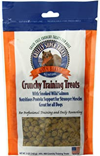 Grizzly Super Treats Crunchy Training Treats Smoked Salmon.5 Ounces