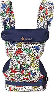 Ergobaby Adapt Award Winning Ergonomic Multi-Position Baby Carrier, Newborn to Toddler, Special Edition Keith Haring , Color Pop