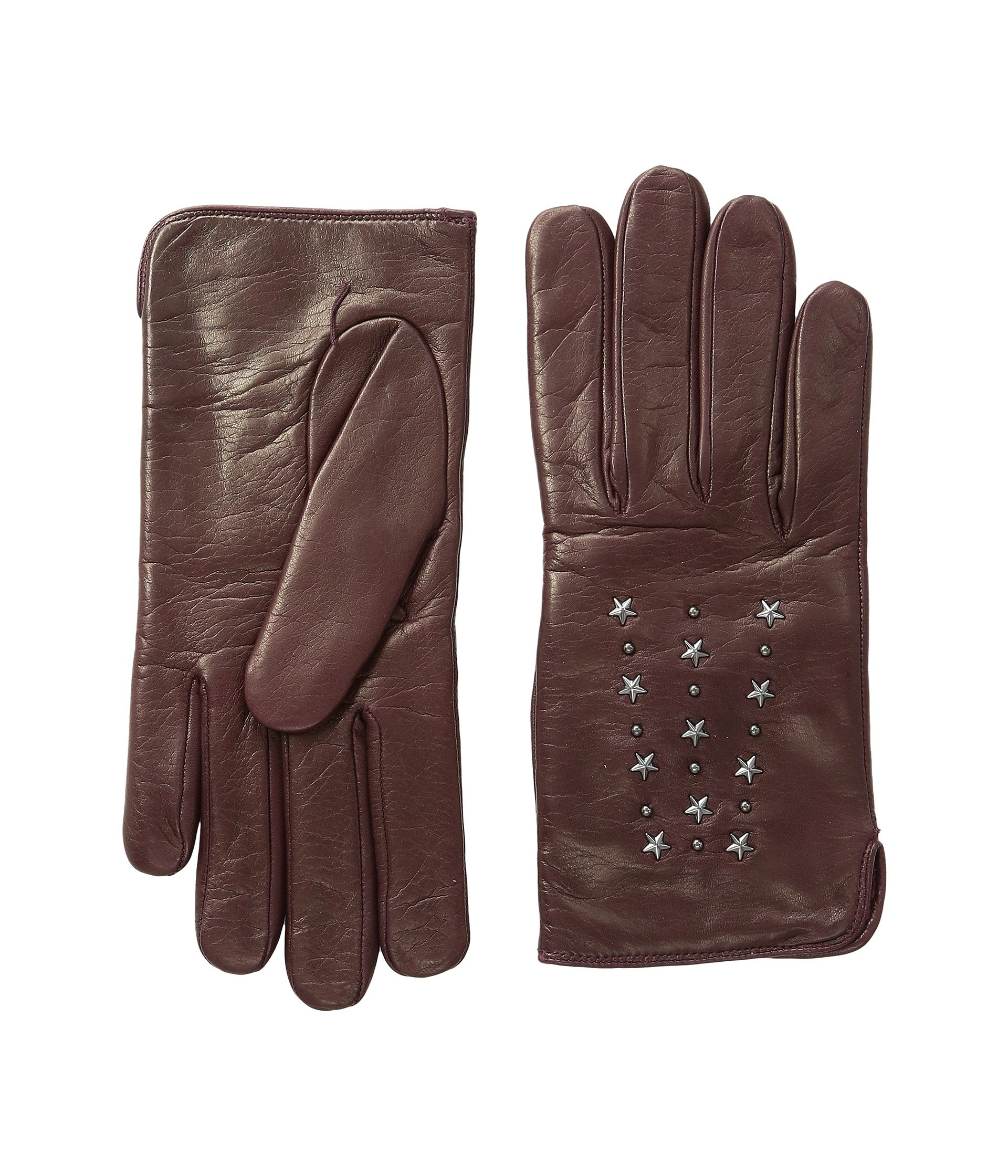 Guantes para Mujer COACH Star Studded Leather Gloves  + COACH en VeoyCompro.net