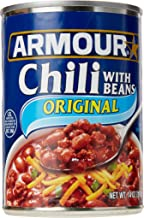 Armour Chili with Beans, 14 Ounce