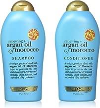 OGX Organix Argan Oil of Morocco Shampoo & Conditioner Set (19.5 Oz Set)