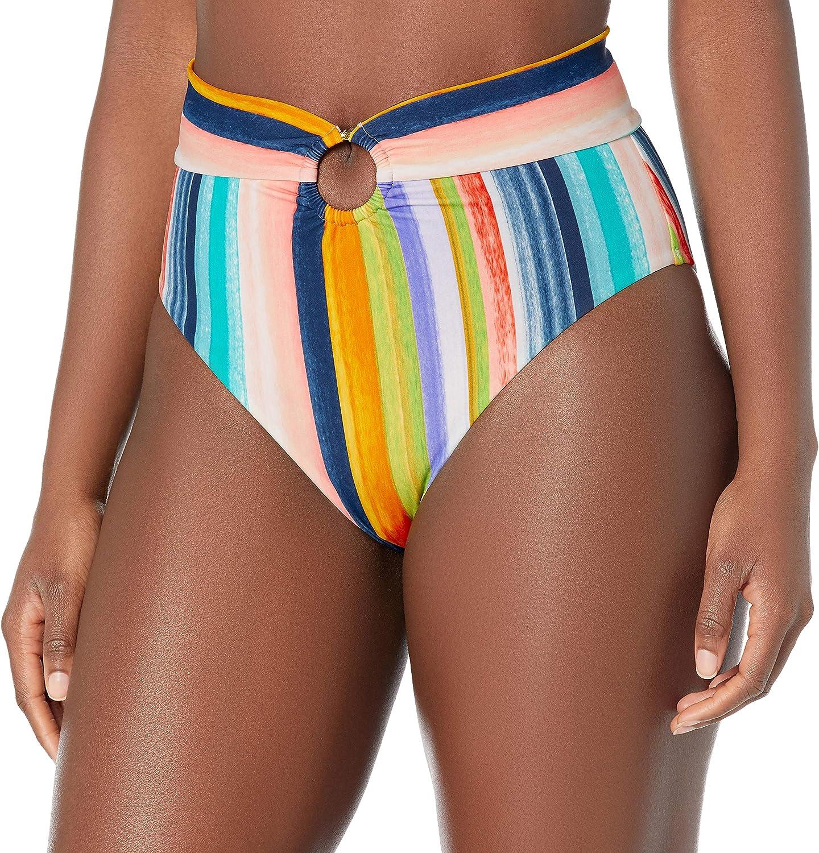 Body Glove Women's Standard Woodstock High Waist Bikini Bottom Swimsuit