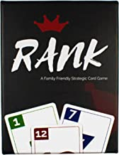 Rank Card Game | Family Fun Strategy Card Game, Challenge Friends and Become King | A Great New Entertaining & Competitive Card Game