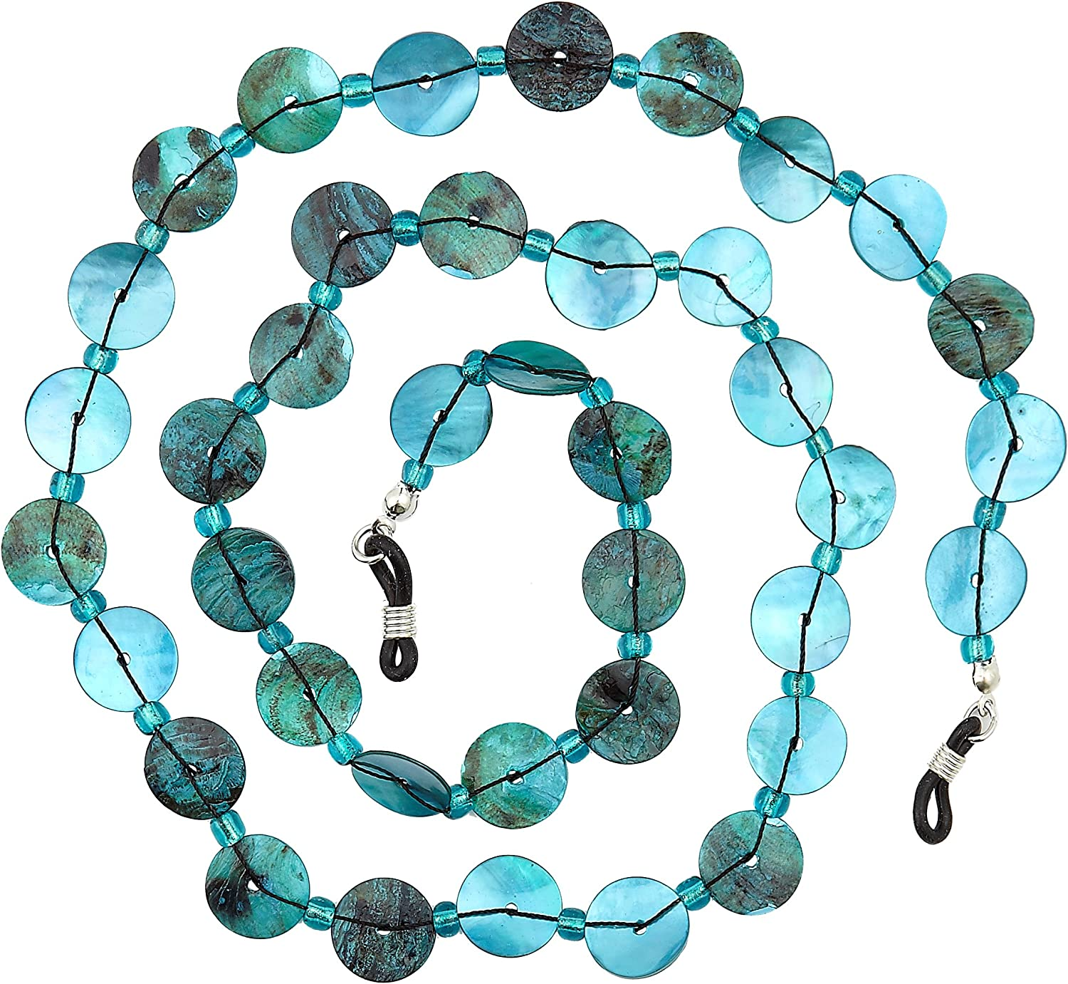 Beaded Glass Eyeglass Chain Holder Fashion Lanyard Necklace