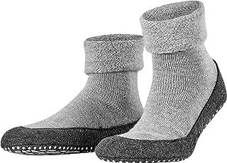 FALKE Men's Cosyshoe Slipper Sock Merino Wool Black Grey And More Colours UK Size 6-11 Thick Warm Cushioned Home Calf Sock...