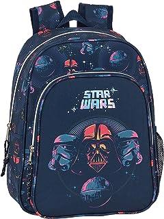 Mochila Safta Escolar Infantil de Star Wars, 270x100x330mm