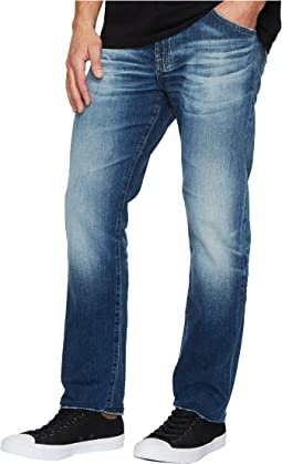 AG Adriano Goldschmied Everett Slim Straight Leg Denim in 12 Years Maverick