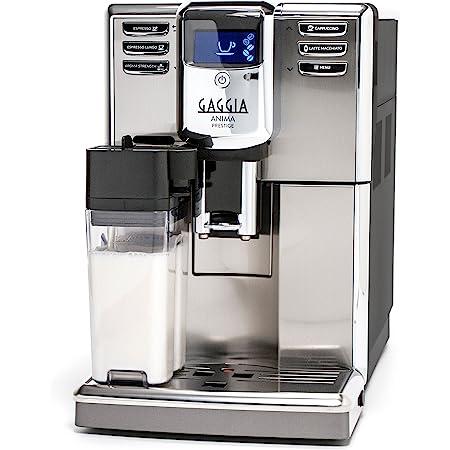 Gaggia Anima Prestige Automatic Coffee Machine, Super Automatic Frothing for Latte, Macchiato, Cappuccino and Espresso Drinks with Programmable Options