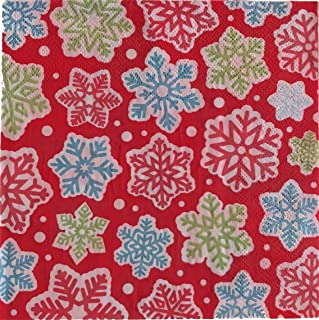 Best snowflake napkins paper Reviews