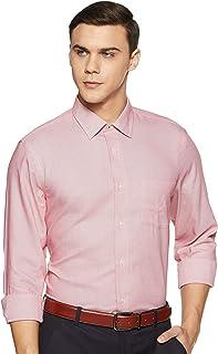 blackberrys Men's Solid Regular Fit Formal Shirt
