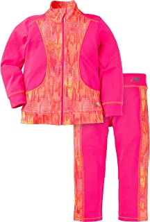 New Balance Baby Girls Athletic Jacket and Pant Set