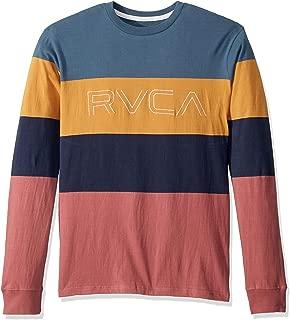 RVCA Men's Shifty Long Sleeve Crew Neck Shirt