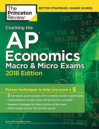 Princeton Review Macroeconomics Economics Books