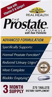 Real Health La fórmula de la próstata con Saw Palmetto, 270 tabletas