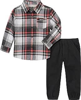 Timberland Baby Boys 2 Pieces Shirt Pants Set