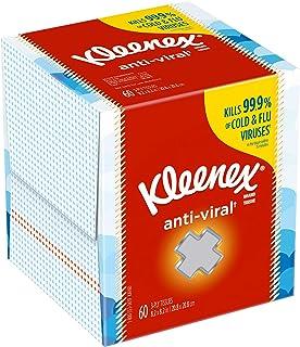 Kleenex Anti-Viral Facial Tissue, White 27 per Carton