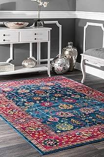 Best purple floral rug Reviews