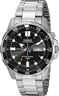 Casio Men's MTD-1079D-1AVCF Super Illuminator Diver...