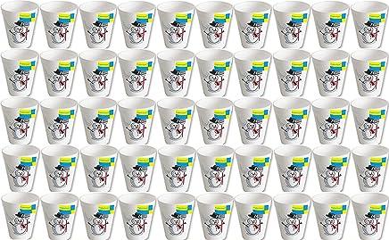 Preisvergleich für 1000 Stück geschäumte Ingbertson® Thermobecher Motiv Schneemann 0,2 l # Glühweinbecher # Weihnachtsmarkt # Weihnachtsfeier # extra dickwandige Becher für Heißgetränke wie Punsch, Glühwein, Kaffee, Tee, ... #
