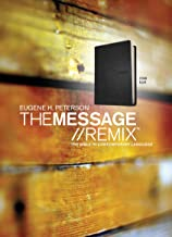 The Message//REMIX (Leather-Look, Black): The Bible in Contemporary Language