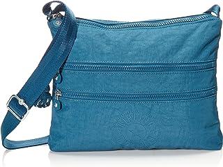 Kipling Unisex-Erwachsene Alvar, Mystic Blue Umhängetasche, Einheitsgröße